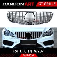W207 Grill C207 GT Grille For Mercedes Benz E Coupe Facelift Front Bumper Racing Sport 2014 2016 E200 E320 E350 grille