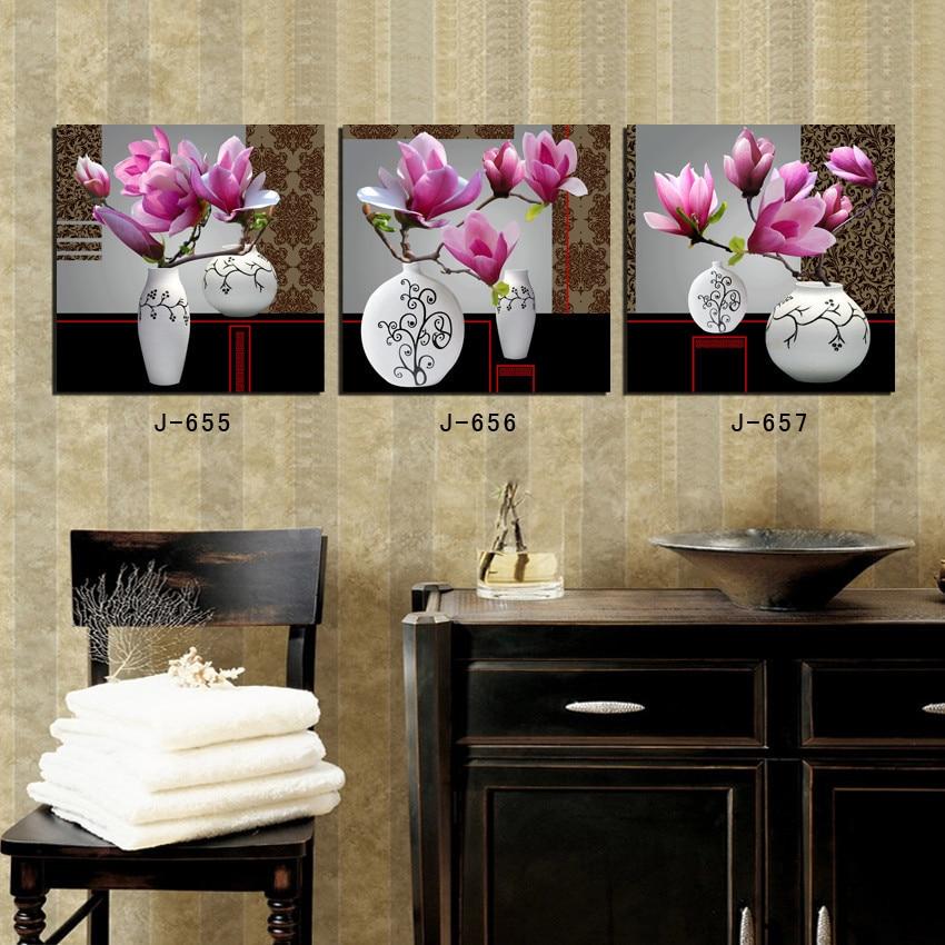 flores unidades de la lona de la pared del cartel de pelcula rosa flores scarface