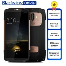 Blackview BV9000 Smartphone Helio P25 Octa Çekirdek 4 GB + 64 GB 5.7 inç IP68 Su Geçirmez NFC 4G Cep Telefonu 4180 mAh Pil 13.0M...