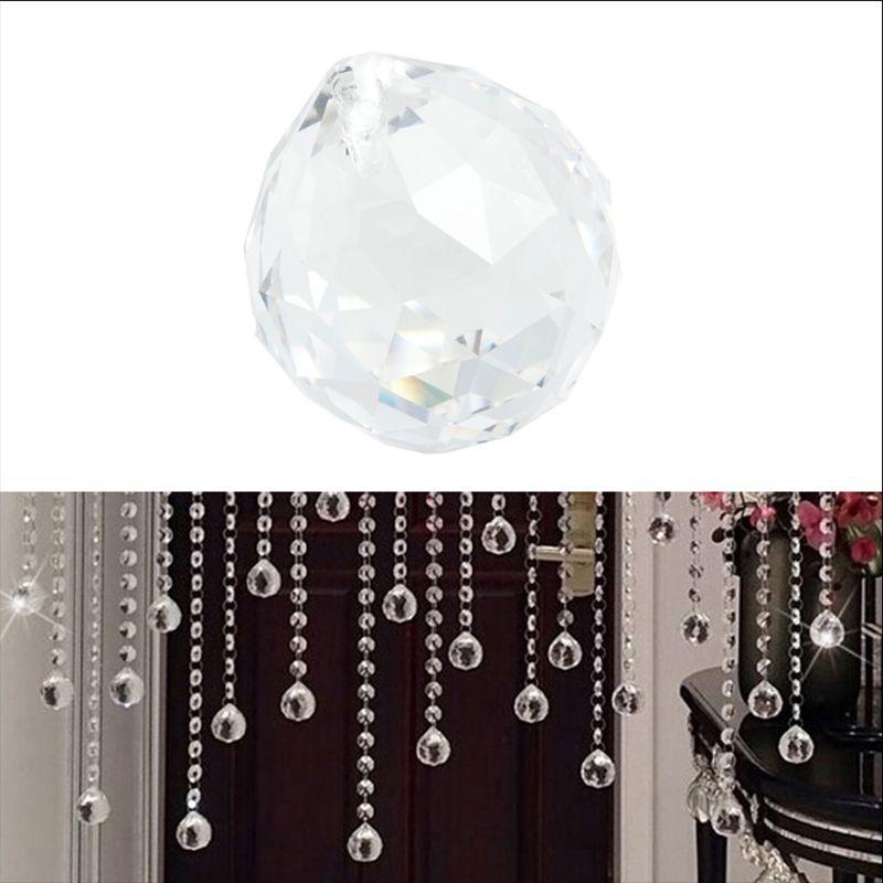 10Pc Suncatcher Square Faceted Glass Crystal Chandelier Drop Prisms Window Decor