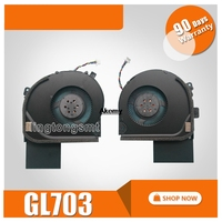new original FCN DFS601712M00T FK0A cpu cooling fan FOR ASUS Laptop VGA Cooling Fan NEW