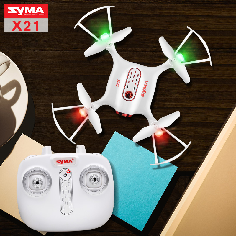 2017 Syma X21 Drone Newest Style RC Quacopter 2 4G 4CH Helicopter with Headless Mode Pneumatic