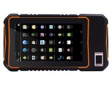 handheld PDA Android 5.1 Rugged Tablet PC  4G lte Waterproof Phone Fingerprint Reader UHF RFID 5M Long Range 2D barcode scanner