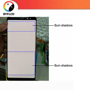 Image 3 - Original LCD For Samsung Galaxy S8 G950 G950F Screen For Samsung S8 Plus lcd G955 G955F Burning shadow Display Touch Screen