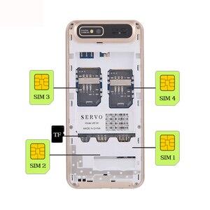 Image 5 - Quad Sim handy Quad Band 2,8 zoll 4 sim karten 4 standby Telefon Bluetooth Taschenlampe MP3 MP4 GPRS Russische sprache tastatur