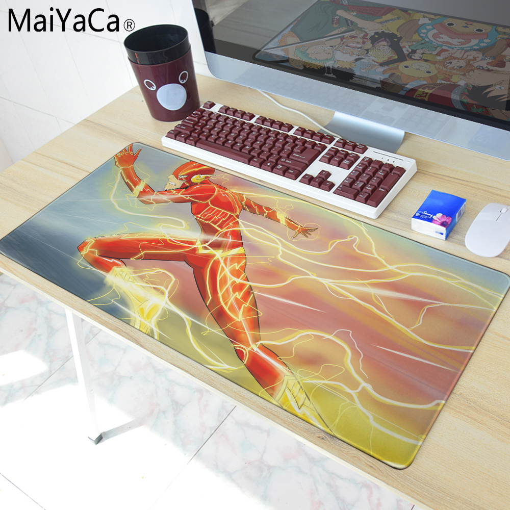 MaiYaCa Overlock Edge Big Gaming mouse Pad The most fire Super hero Mouse Pad Send Boy Friend the Best Gift 40x90cm ...