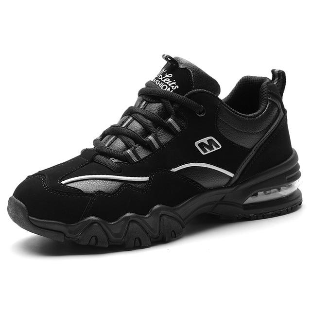 Men Winter Sneakers Waterproof Women Running Shoes Good Quality Sports Boots Walking Zapatillas Cushion Shoes Size 35-44 RS07