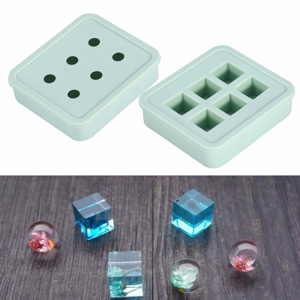 1pc Rectangle Silicone Pendant Mold For Making Resin Necklace Earrings Handmade Jewelry  ...