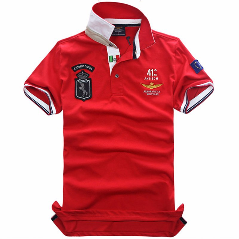 Popular aaa polo shirts buy cheap aaa polo shirts lots for High quality embroidered polo shirts