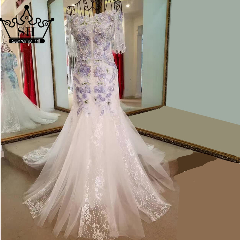 High quality wholesale purple wedding dresses from china for High end wedding dress
