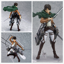 Attack on Titan Eren Mikasa Levi Action Figure (3 types)