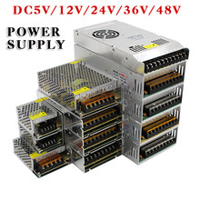 Hot Sale AC85-265V 110V 220V to DC5V 12V 24V 36V 48V 1A 2A 3A 5A 10A 15A 20A 30A 40A 80A CCTV / LED Strip Power Supply Adapter(China)