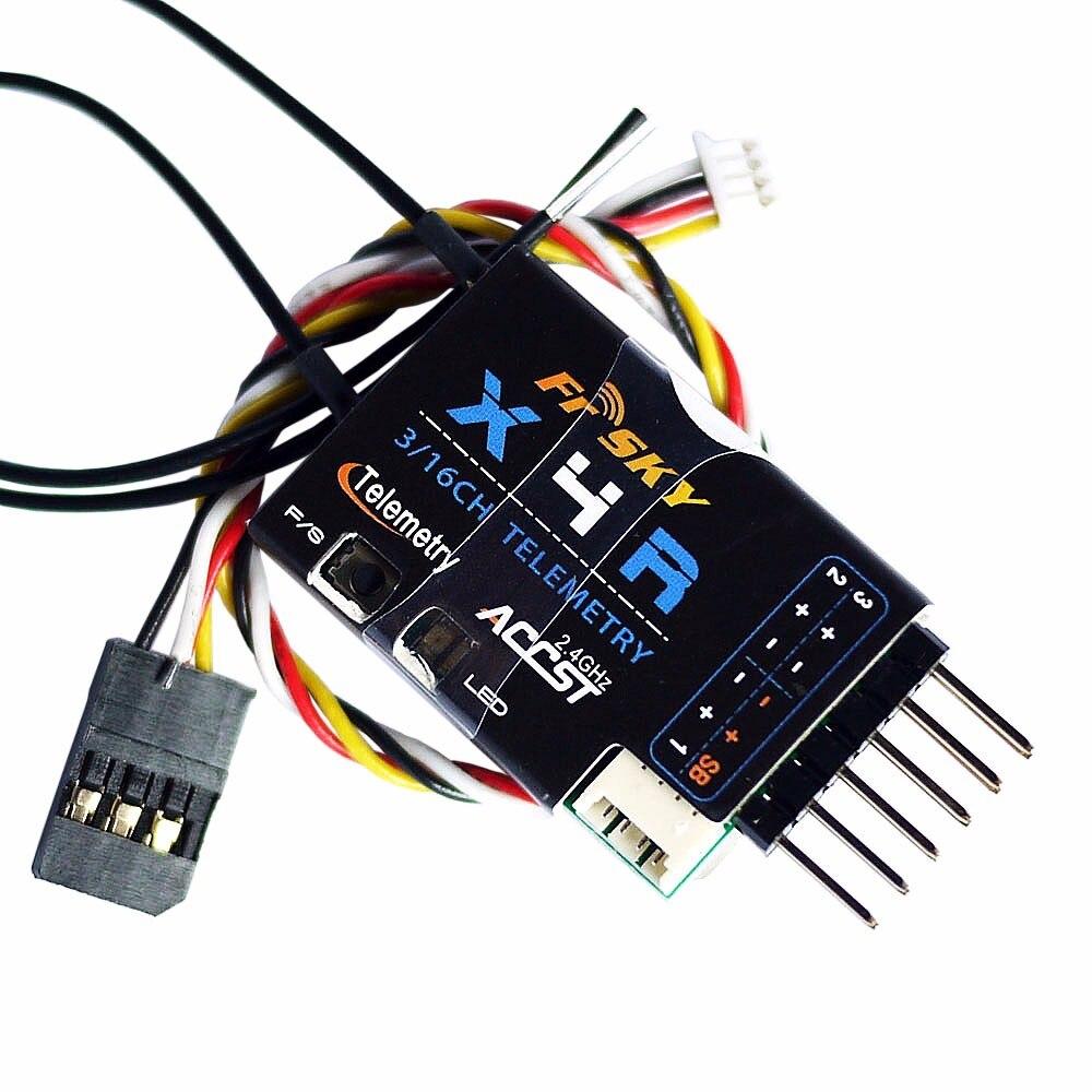 Récepteur télémétrique d'origine FrSky X4RSB 2.4G 3/16CH avec Port intelligent CPPM SBUS pour transmetteur Taranis X9D Plus