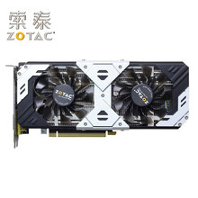 Original zotac gtx 960 4gb gpu placas gráficas geforce GTX960-4GD5 mapa 128bit pci-e placa de vídeo para nvidia gm206 4gd5 hdmi usado