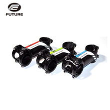 FUTURE Aluminum Alloy Packaged Carbon Bike Stem Mtb Road Bicycle Cycling Parts 3k Gloss Angle 6 Bicicleta Accessories 31.8mm цена