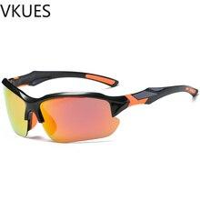 VKUES Mens Photochromic Polarized Sunglasses Sport Fashion Coated Sun Glasses Outdoor Goggles Cyclists Drivers Eyewear UV400