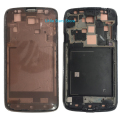 Original Front Middle Frame Housing Bezel Cover With Metal Ear Speaker Mesh For Samsung Galaxy S4 Active i9295 Gray