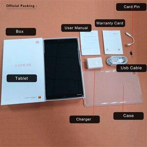 Image 5 - Global Firmware Huawei Mediapad M5 8.4 inch 4GB 64GB Tablet PC Kirin 960 Octa Core Android 8.0 2560x1600 Fingerprint