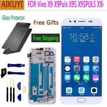 Original screen for Vivo X9 X9PULS X9S X9SPULS X9I LCD Full Touch Display touch  X9SPUL