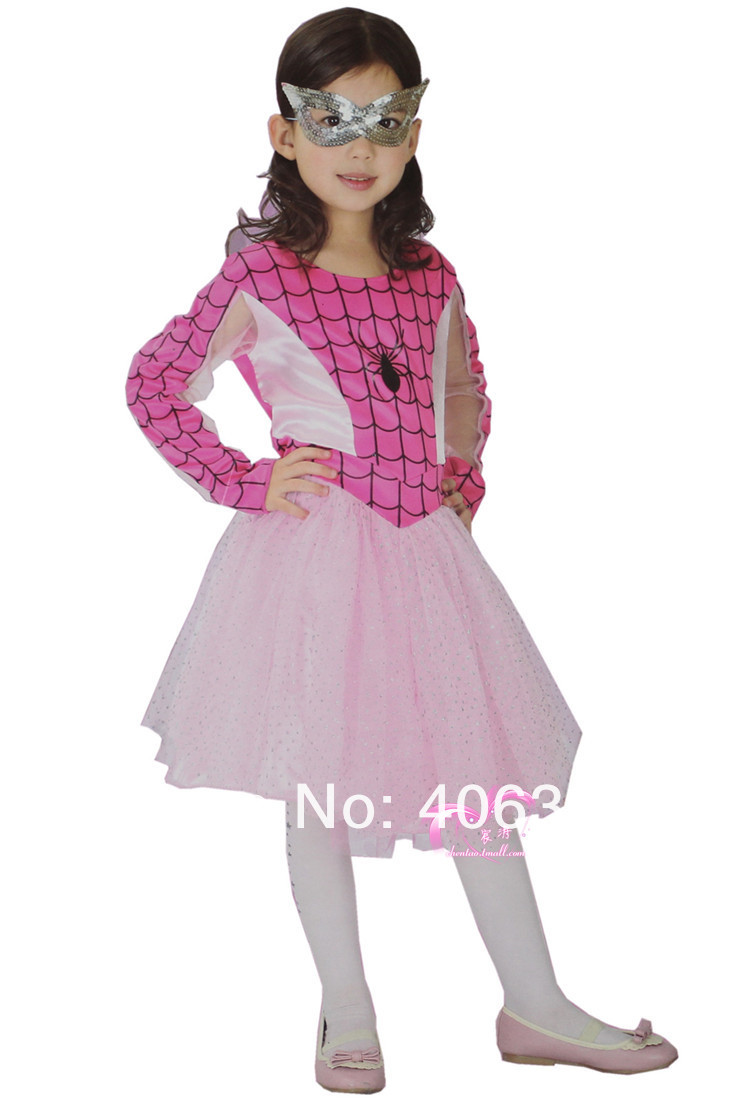 Aliexpress.com : Buy Free shipping ,cosplay pink Spiderman costume ...
