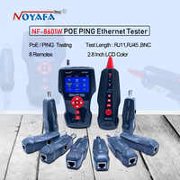 Nowy NF-8601W wielofunkcyjny Tester kabli sieciowych Tester długości kabla LCD Tester punktu przerwania angielska wersja NF_8601W