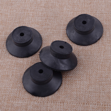 High quality 4pcs 48mmx18mm Black Rubber Pad Replacement Foot Pads Vibration Isolator for Air Compressors