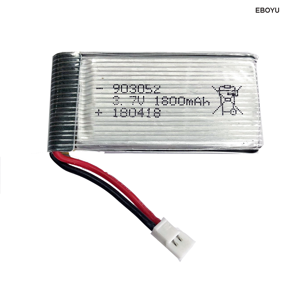 EBOYU 3 7V 1800mAh Li po Rechargeable Battery for XKY KY101S S28 and other font b