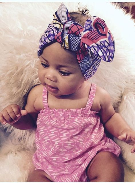 Girls Headwrap Turban African Ethnic Geo Batik Print Headband Bow Trendy  Girl Fashion Adorable Cute Headwrap for Girl BRW WYA013 81d74fa6188