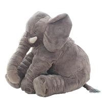 Fashion 60cm Baby Stuffed Animal Elephant Style Doll Plush Pillow Kids Toy For Children Room Bed