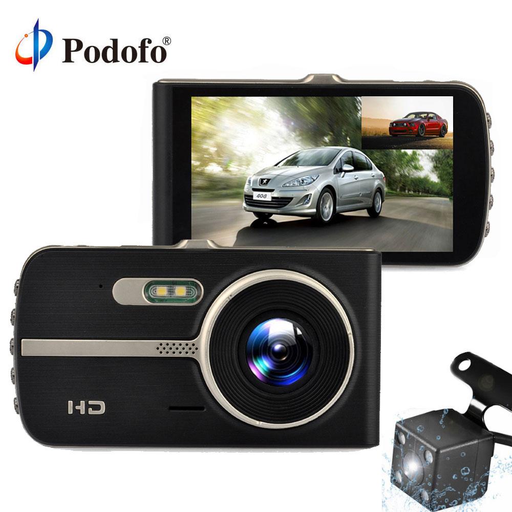 Podofo Dual Cameras Car DVR 4.0