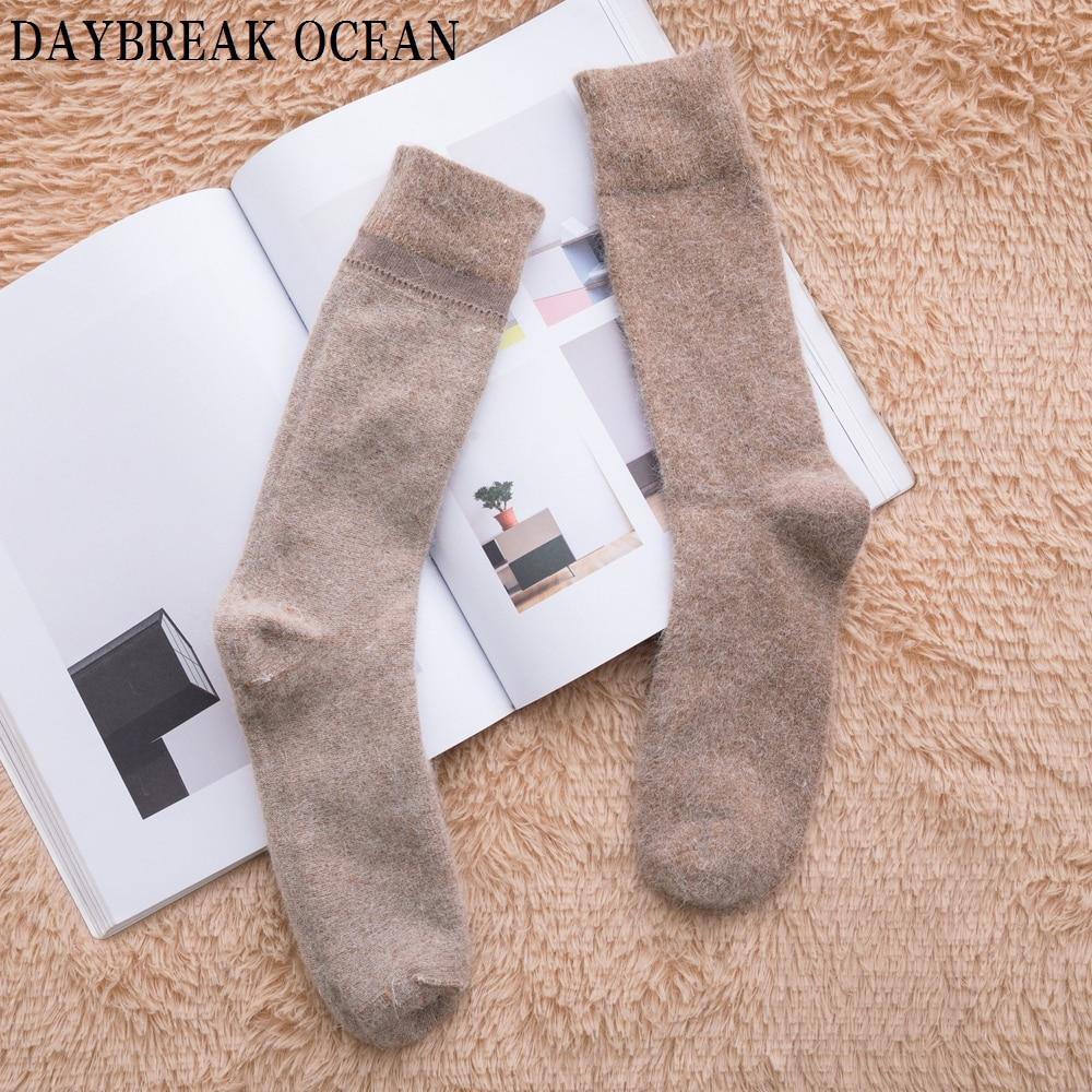 1eeb91355725e 3 Pair High Quality Angora Cashmere Rabbit Wool Socks Super Soft Thick Warm  Merino Men Socks 2018 Big Size Winter Socks For Men-in Men's Socks from ...