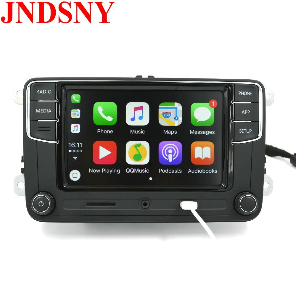 jndsny android auto carplay app r340g rcd330 rcd330g plus 6 5 mib car radio for golf 5 6. Black Bedroom Furniture Sets. Home Design Ideas
