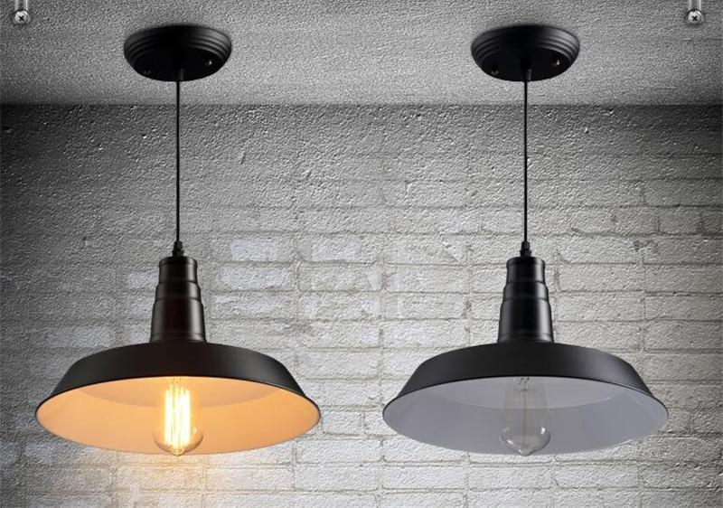 Slaapkamer Lamp Zwart : E zwart wit rood hanglampen land lampen vintage verlichting voor