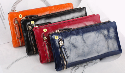 Hotsale  Women 's Long wallet fashion leather wallet women' s wallet wallet Purse