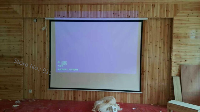 120 Inch 4 to 3 screen pic 4