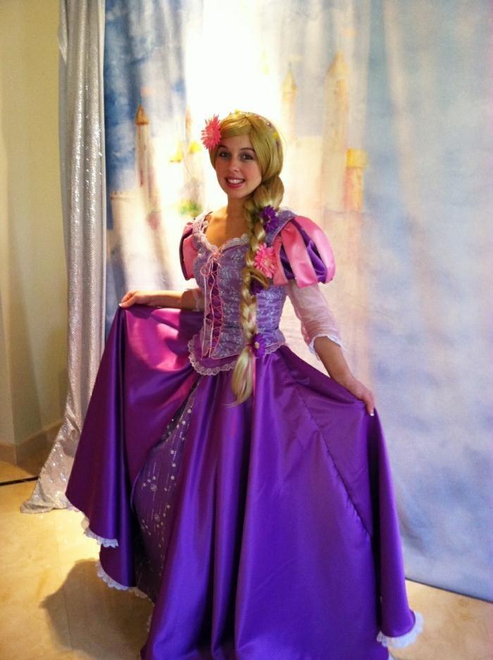 Excepcional Vestido De Novia Rapunzel Galería - Colección del ...