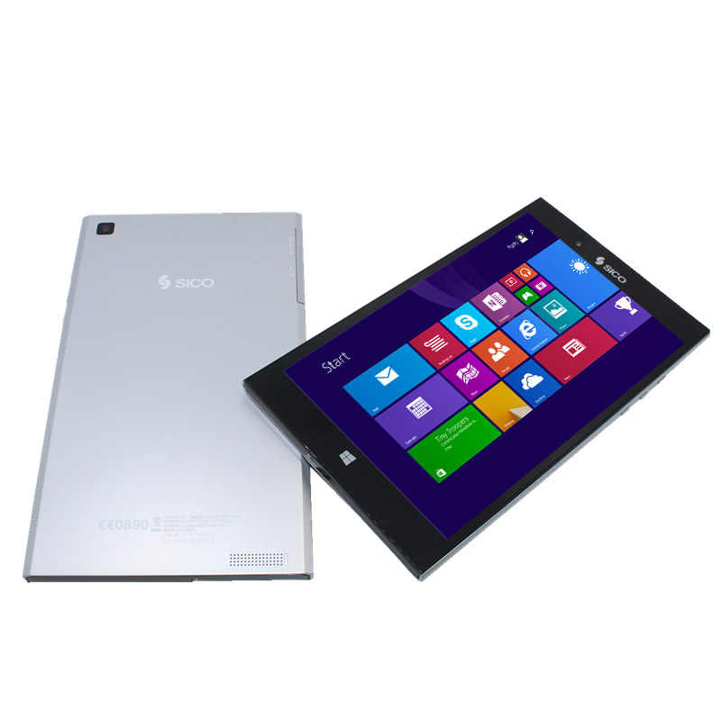 8 pouces support 3G réseau Windows 8.1 double cœur tablette PC 1280*800 1 + 16GB HDMI WiFi argent tablette