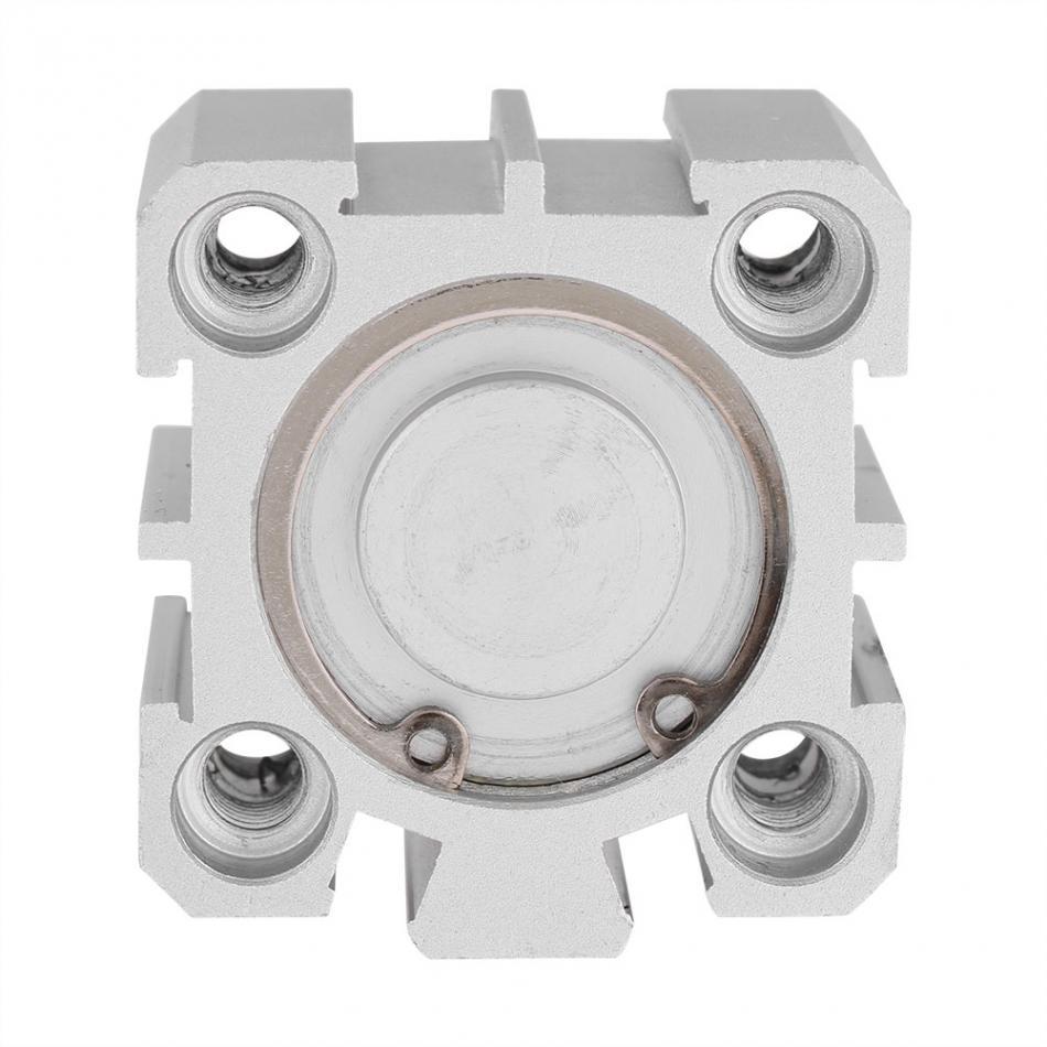 Pneumatic Air Cylinder SDA25-10 25mm Bore 10mm Stroke Aluminum Double Acting Pneumatic Air Cylinder