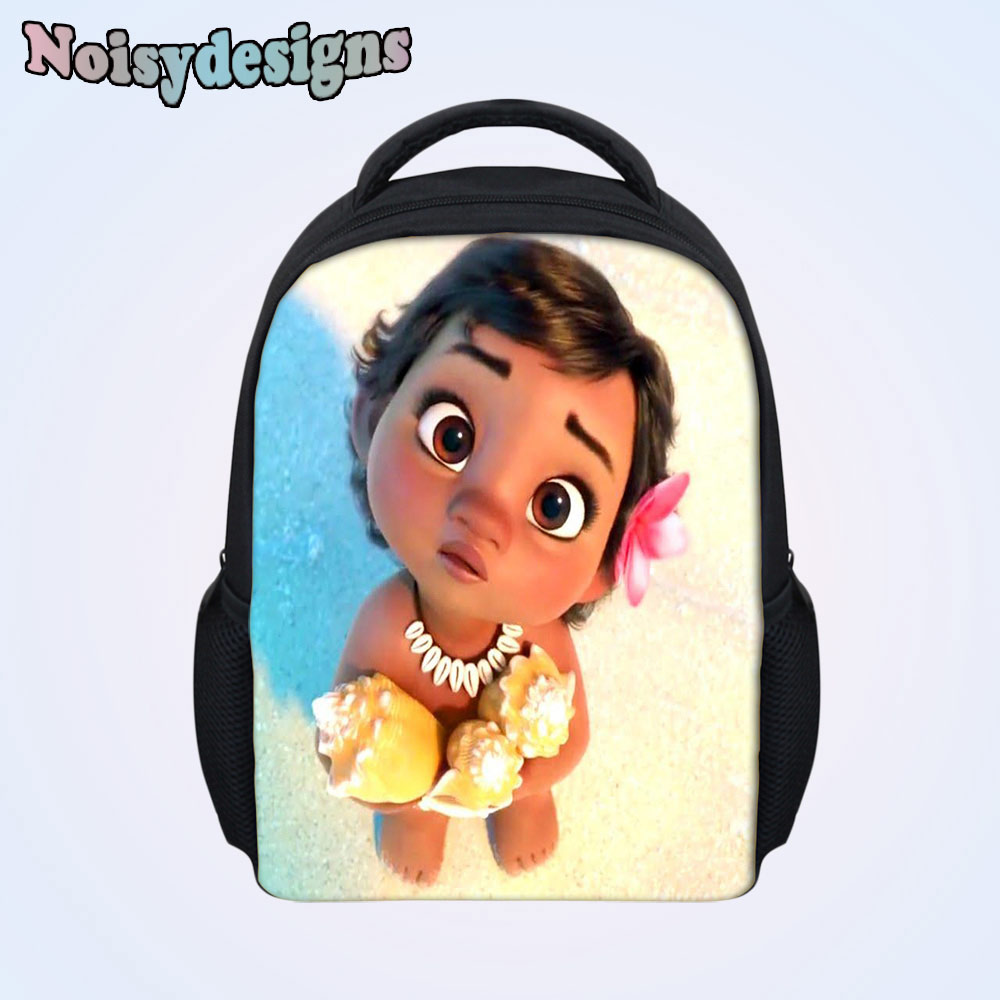 Children Backpack Princess Moana Cartoon Printed Baby Kids Preschool School  Book Bags Small Bag Boys Girls Schoolbag Mochila b9852d8f429a1