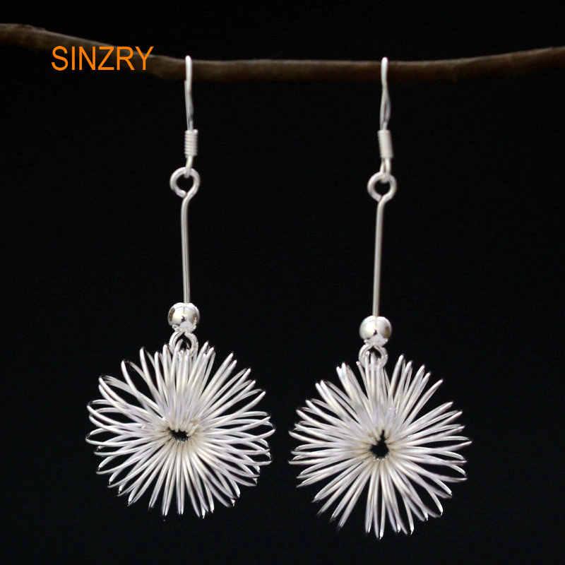 Sinzry креативные Элегантные Изящные Ювелирные изделия из стерлингового серебра 925