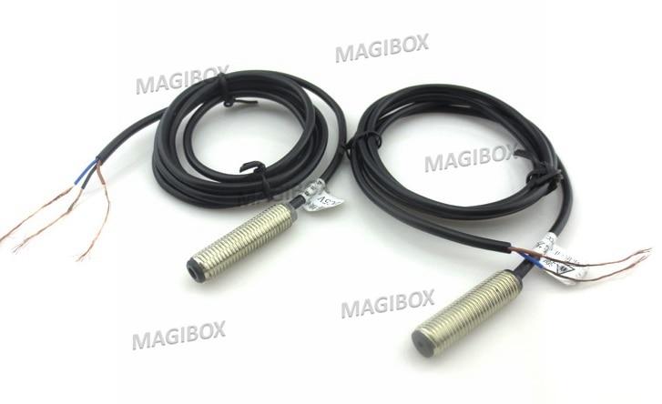 M8 NPN 30m 3.3-5v Laser Shooting Sensor Switch Output Relay Switch Laser Photoelectric Switch Alarm Sensor