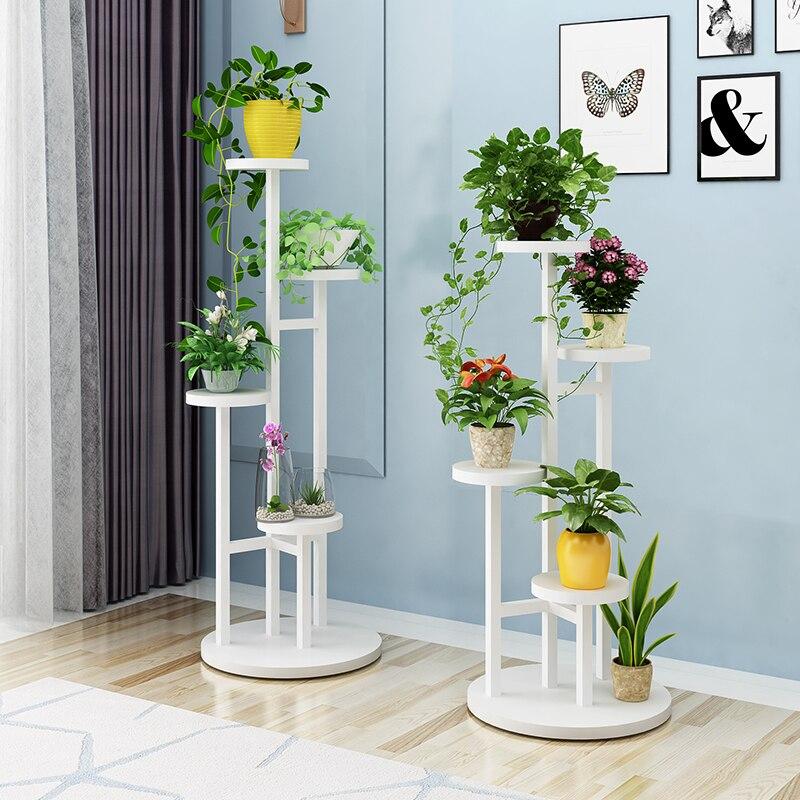 Nouveauté belle belle fleur stand pour balcon salon chambre fleur cadre bureau et fleur rack par canapé