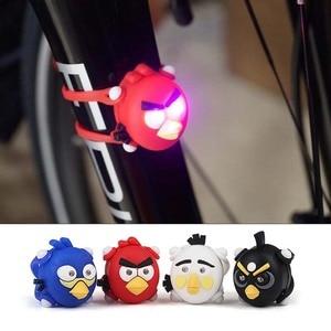 Farol de bicicleta Lâmpada LED Flash de Luz de Advertência do Silicone Novo Começo Frente Roda Traseira Da Bicicleta Luz Acessórios de Bicicleta À Prova D' Água