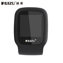 Original RUIZU X09 4 GB Clip Mini Jugador de MP3 Del Deporte con pantalla Puede Jugar 30 Horas de Apoyo FM reproductor de música negro