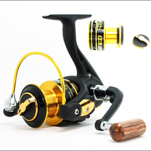 Fishing reel KB1000-6000 Spinning Fishing Reel Carp Ice Fishing Gear 5.1:1 Real 12BB CASTING REEL for outdoor sports