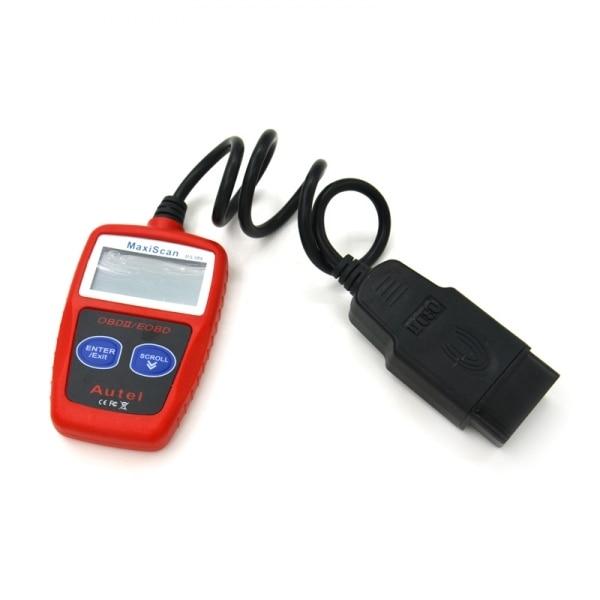 Рекламная цена MaxiScan MS309 CAN BUS OBD2 Код Читателя автомобилей obd2 OBD II Автомобиля Диагностический Инструмент ms309 Код Сканер бесплатный доставка