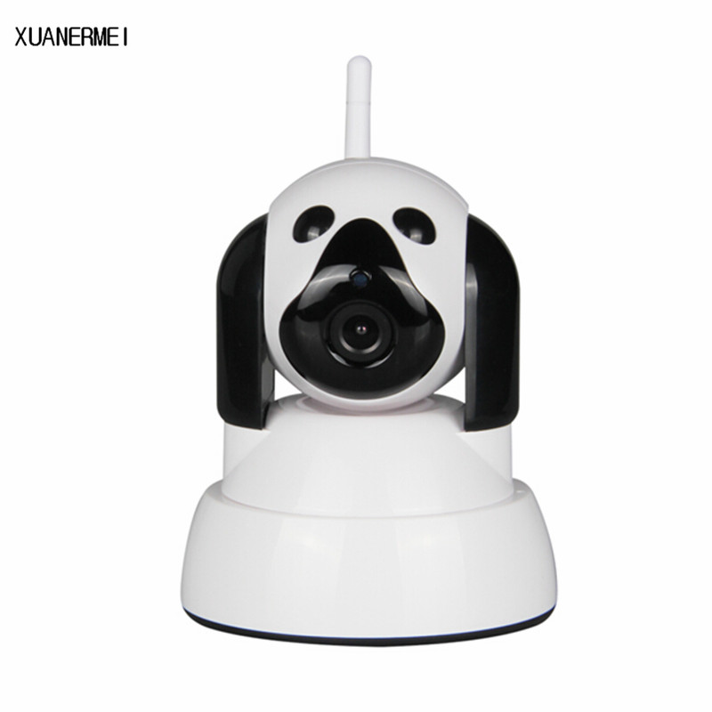 XUANERMEI Home Baby Monitor Wi-Fi Security IP Camera Wireless Smart Dog Camera Surveillance 720P Night Vision CCTV Indoor