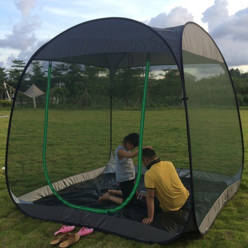 Ultralight Outdoor Mosquito Net Garden Tent Sun Shelter Summer 6 10 people Breathable Gauze tent Anti