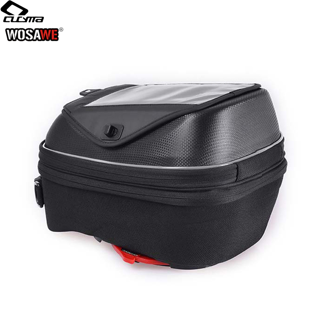 Image 3 - CUCYMA 18 23L мотоциклетная масляная топливная сумка без ручки карманы для навигации по мобильному телефону сумка gps для KTM KAWASAKI DUCATI-in Сумки на бак from Автомобили и мотоциклы