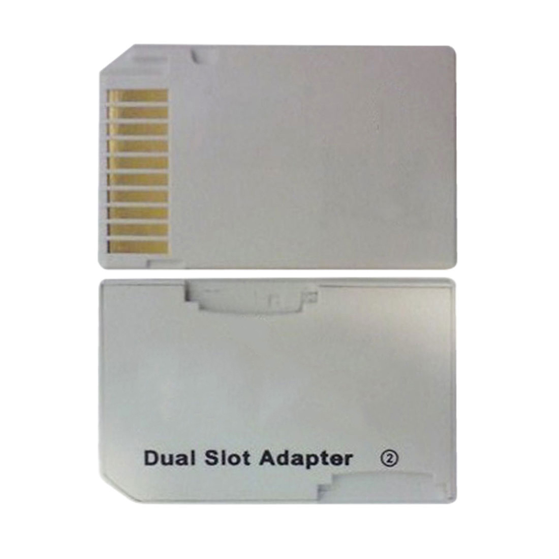 Image 3 - NOYOKERE Memory Card Adapter 2 microSD/micro SD Card Reader Adapter Micro SD TF to Memory Stick MS Pro Duo for PSP Card White-in Card Readers from Computer & Office
